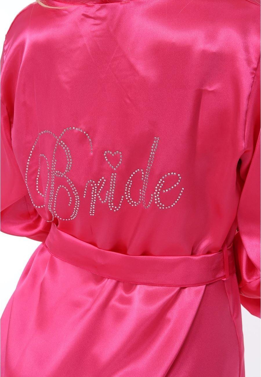Asimod Kadın Bride Saten Sabahlık