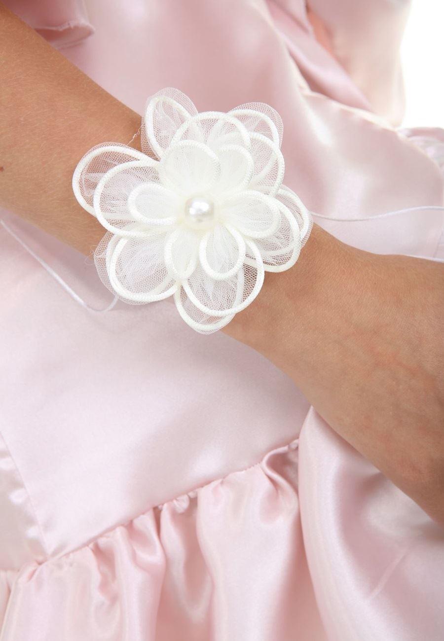 Asimod Bride Organize Çİçekli Bileklik