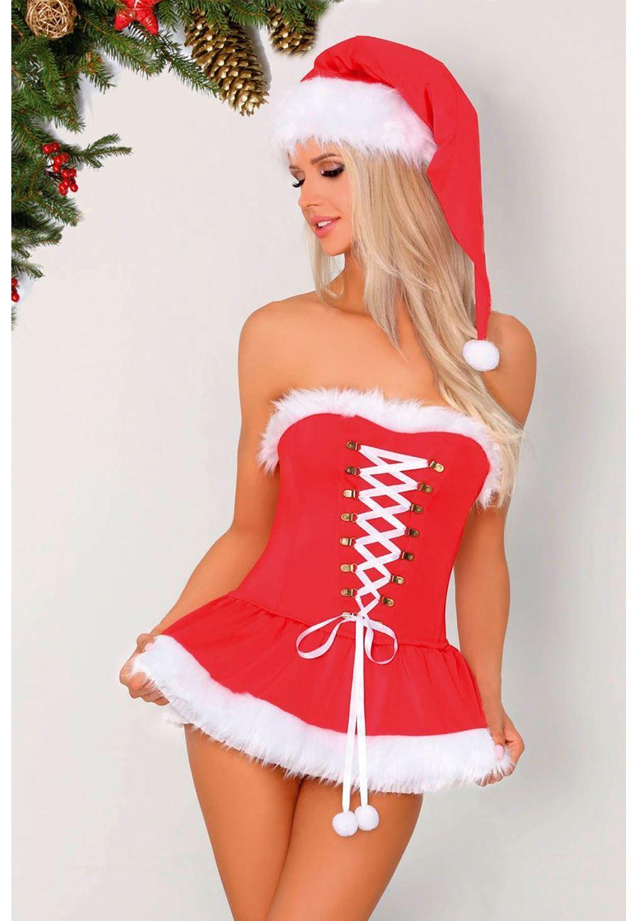 Vip Madame Kadın Noel Yıl Başı Kostüm