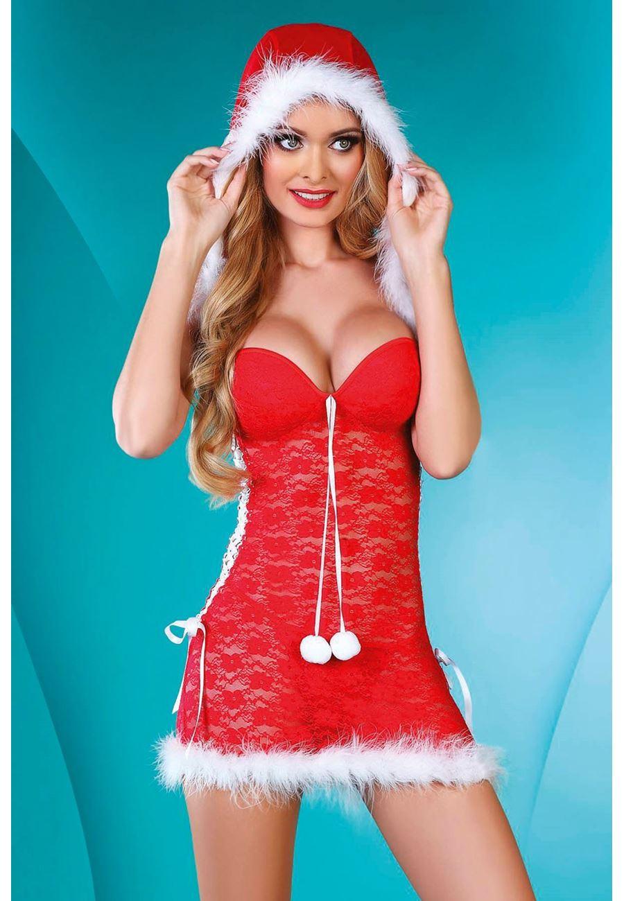 Vid Madame Kadın Noel Yıl Başı Kostüm
