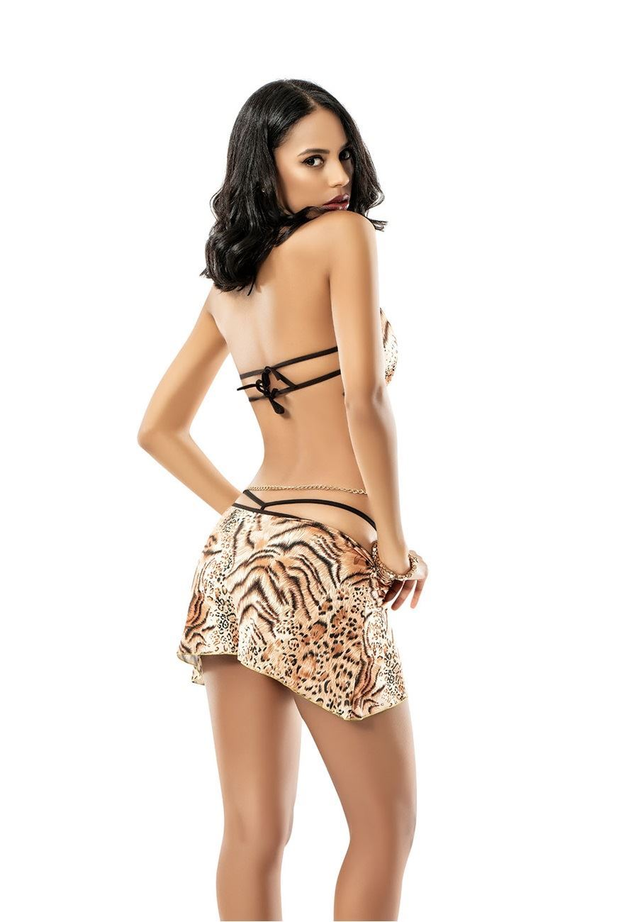 Vip Madame Fantezi Mini Elbise