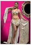 Vip Madame Özel Tasarım Oryantal Dansöz Kostüm Set Takım